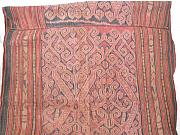 Woman Tapestries - Textiles Originals - Tapestry Ikat Pua Kumbu skirt originating from Sarawak North Borneo by Anonymous artist