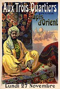 Orient Digital Art Prints - Tapis dOrient Print by Sanely Great