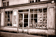 Old Store Photos - Tapissier Decorateur by Olivier Le Queinec
