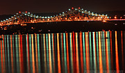 Nights Originals - Tappan Zee at Night by Brittany Petronella
