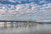 Westchester County Framed Prints - Tappan Zee Bridge I Framed Print by Clarence Holmes