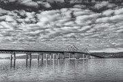 Westchester County Framed Prints - Tappan Zee Bridge II Framed Print by Clarence Holmes