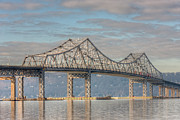 Westchester County Framed Prints - Tappan Zee Bridge III Framed Print by Clarence Holmes
