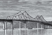 Westchester County Framed Prints - Tappan Zee Bridge IV Framed Print by Clarence Holmes