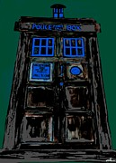 Dr. Who Framed Prints - Tardis 2 Framed Print by David Rogers