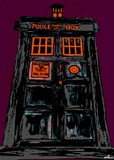 Dr. Who Framed Prints - Tardis 5 Framed Print by David Rogers