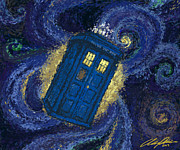 Tardis Digital Art - Tardis by Austin Phillips