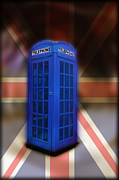 Tardis Digital Art Prints - Tardis Print by Bill Cannon