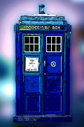 Tardis Framed Prints - Tardis Framed Print by Teresa Wells