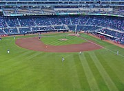 Target Field 2 Print by Todd and candice Dailey