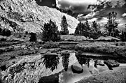 Backcountry Framed Prints - Tarn Reflection Framed Print by Cat Connor