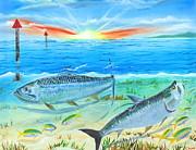 Kevin  Brown - Tarpon at Sunrise