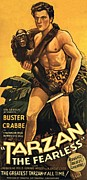 Motion Picture Poster Posters - Tarzan the Fearless  Poster by Movie Poster Prints
