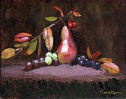 Vivid Fall Colors Art - Taste of Fall by Ruben Carrillo