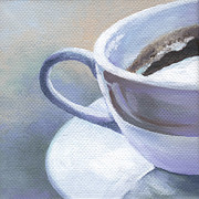 Coffee Art Prints - Taste of Morning Print by Natasha Denger