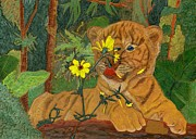 Cats Reliefs - Taste of Summer by James McGarry Leather Artist