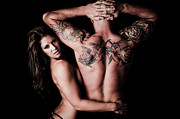 Passionate Touch Prints - Tat Attraction Print by Jt PhotoDesign