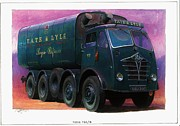 Classic Vehicle Posters - Tate and Lyle Foden. Poster by Mike  Jeffries