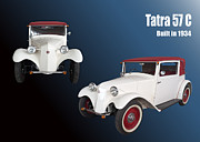Czech Digital Art - Tatra 57C by Igor Sinitsyn