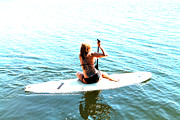 Stand Up Paddle Board Photos - Tats and sups by Justin King