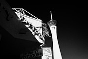 Stratosphere Prints - tattoo parlour near the statosphere hotel tower and casino Las Vegas Nevada USA Print by Joe Fox