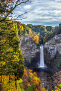 Taughannock Fall 3 Print by Mark Papke