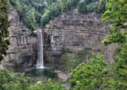 Lori Deiter Digital Art - Taughannock Falls in Summer by Lori Deiter
