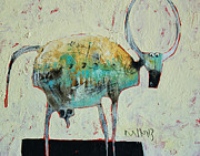 Outsider Art - Taurus No 6 by Mark M  Mellon