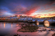 Praia De Faro Prints - Tavira Twilight Print by Nigel Hamer