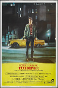 Driver Digital Art Posters - Taxi Driver Poster Poster by Sanely Great