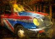 Taxi Digital Art - Taxi by Svetlana Sewell