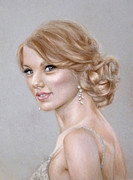 Taylor Swift Pastels Originals - Taylor Swift by Danielle Fisher