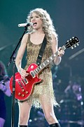 Taylor Swift Art - Taylor Swift by Front Row  Photographs