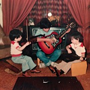 Music Art - #tbt Me My Twin Daniel And Brother by Patrick Brazell