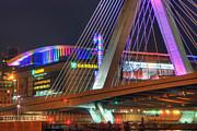 Joann Vitali - TD Garden and the Zakim Bridge in Pink