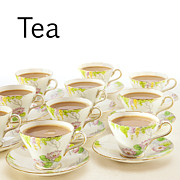 Tea Time Prints - Tea Concept Print by Colin and Linda McKie