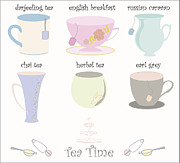 Tim Hester - Tea Cup Collection Vector