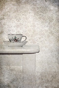 Wall Table Posters - Tea Cup Poster by Joana Kruse