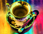 Johnny Trippick Prints - Tea for a Friend Print by Johnny Trippick
