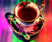 Johnny Trippick Prints - Tea for One Print by Johnny Trippick