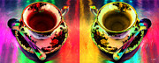 Johnny Trippick Prints - Tea for Two Print by Johnny Trippick