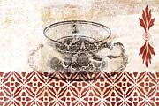 Tea House Print by Frank Tschakert