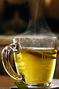 Cup Of Tea Photos - Tea by Nino Via