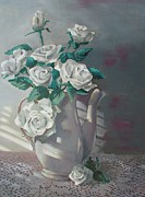 Tony Caviston - Tea Pot Roses