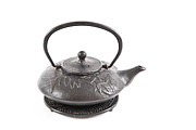 Oriental Teapot Prints - Tea pot Print by Tom Gowanlock