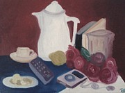 Tabletop Prints - Tea Time Print by Darlene Berger