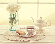 Quiet Time Prints - Tea Time Print by Kay Pickens
