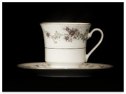 Unwind Metal Prints - Tea Time Metal Print by Tawnya Apuan