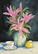 Torrie Smiley - Tea with Lilies