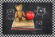 Kids Books Metal Prints - Teachers Pet Metal Print by Terry Fleckney